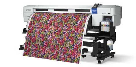 Máy in chuyển nhiệt lên vải khổ lớn Epson SureColor SC-F7100