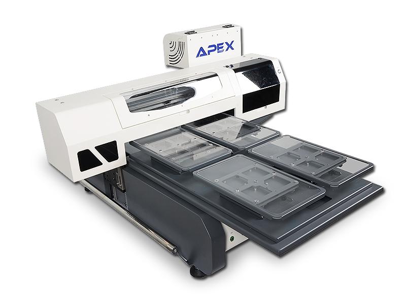 Máy in trực tiếp lên áo thun Apex 4060 - in 2 áo thun 1 lần